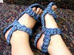 plarn sandals
