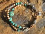 turquoise pearl jewelry