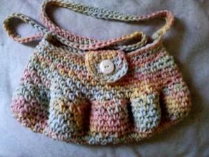 pastel purse