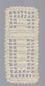 fillet crochet cross