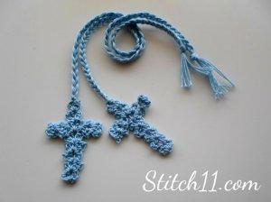 http://stitch11.com/crochet-cross-bookmark/