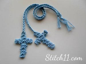 http://stitch11.com/crochet-cross-bookmark/