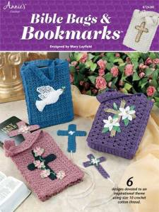 Crochet Bible Bags and Bookmarkers