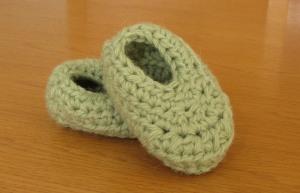 wooly wonders baby booties