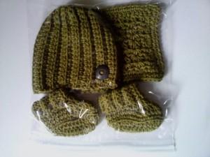 Ribbed Baby Boy Set