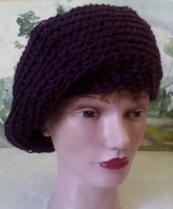 soft beret head front