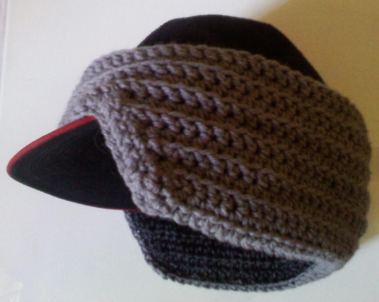 Free Knitting Pattern Ear Warmer Hat : Men s Baseball Cap Earwarmer Joyful In Tribulation