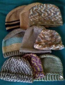 jit crocheted hats