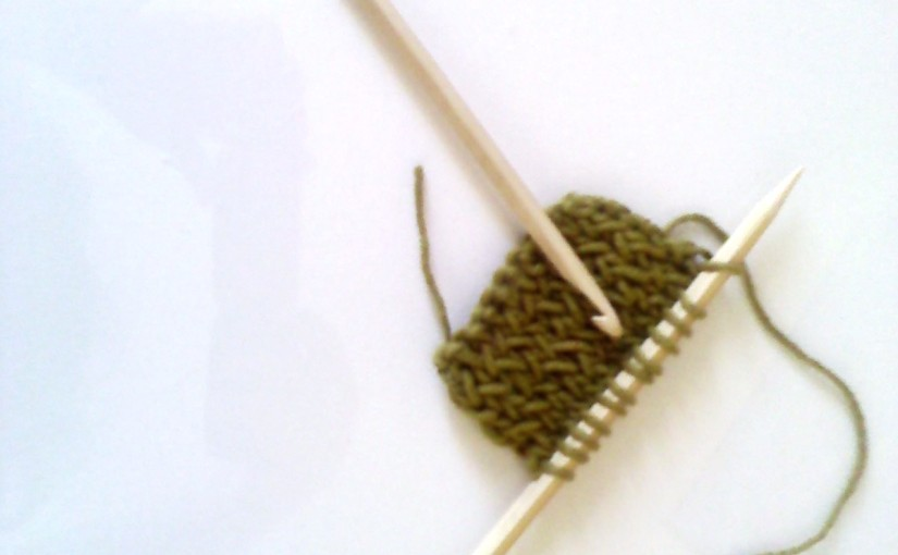 Knitting and Crocheting withChopsticks