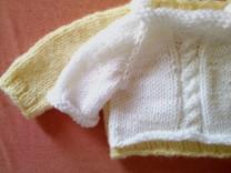 Knit Baby Raglan Sleeves