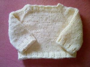 Yellow Raglan Sweater - Edited